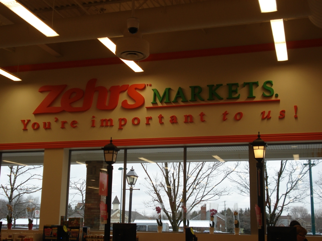 zehrs market Zehrs stores have been known in ontario by three distinct names: zehrs markets, zehrs food plus and zehrs greatfood (similar to the new loblaw greatfood locations opened in the greater toronto area ) in 2010, zehrs unveiled a new logo and store design, renovating several stores to the new format.